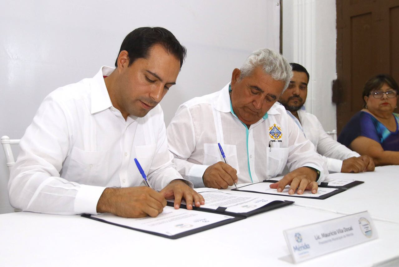 Mérida y Progreso se unen por el turismo