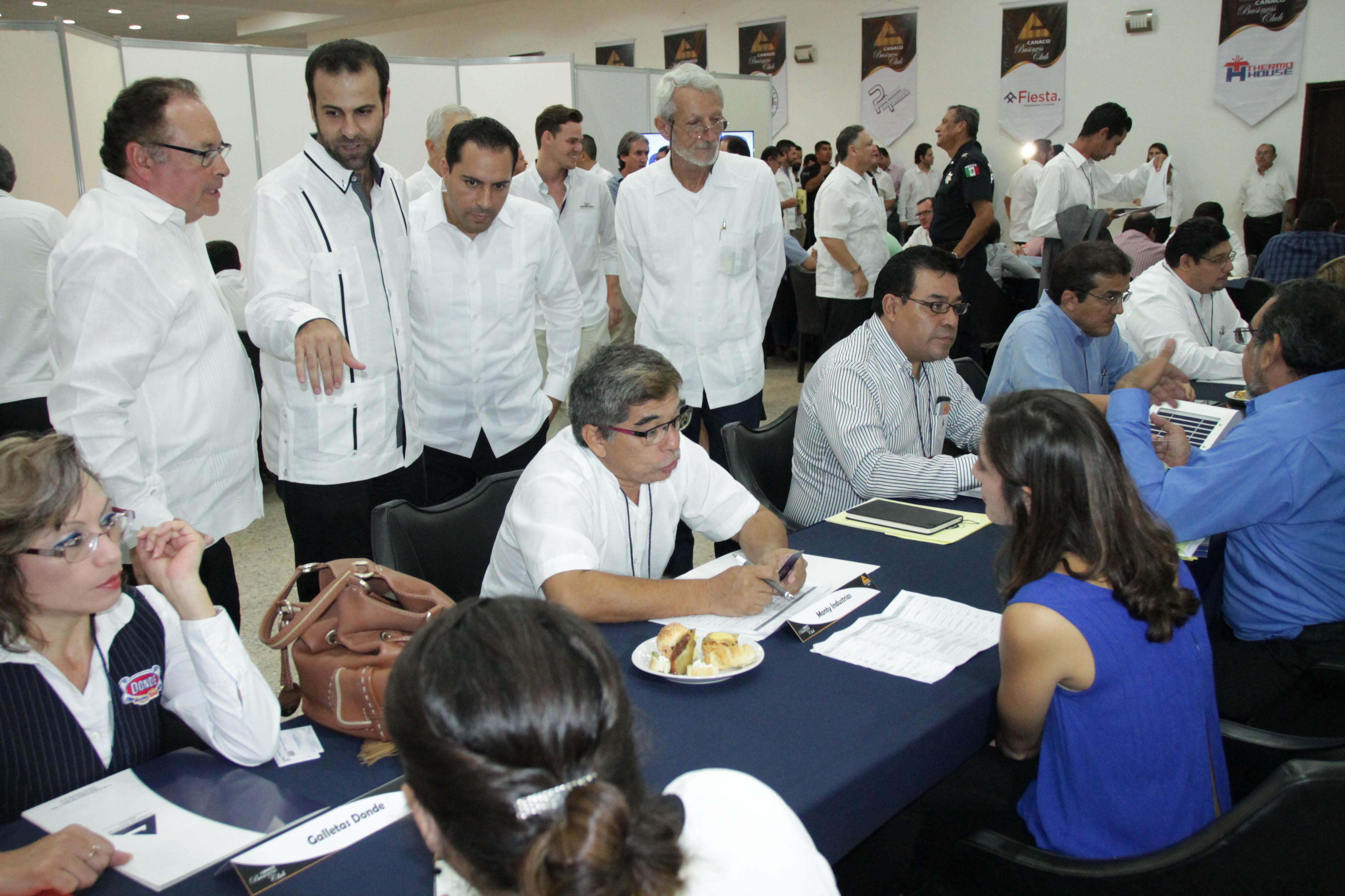 Acercan empresas de Canaco Mérida a grandes corporativos