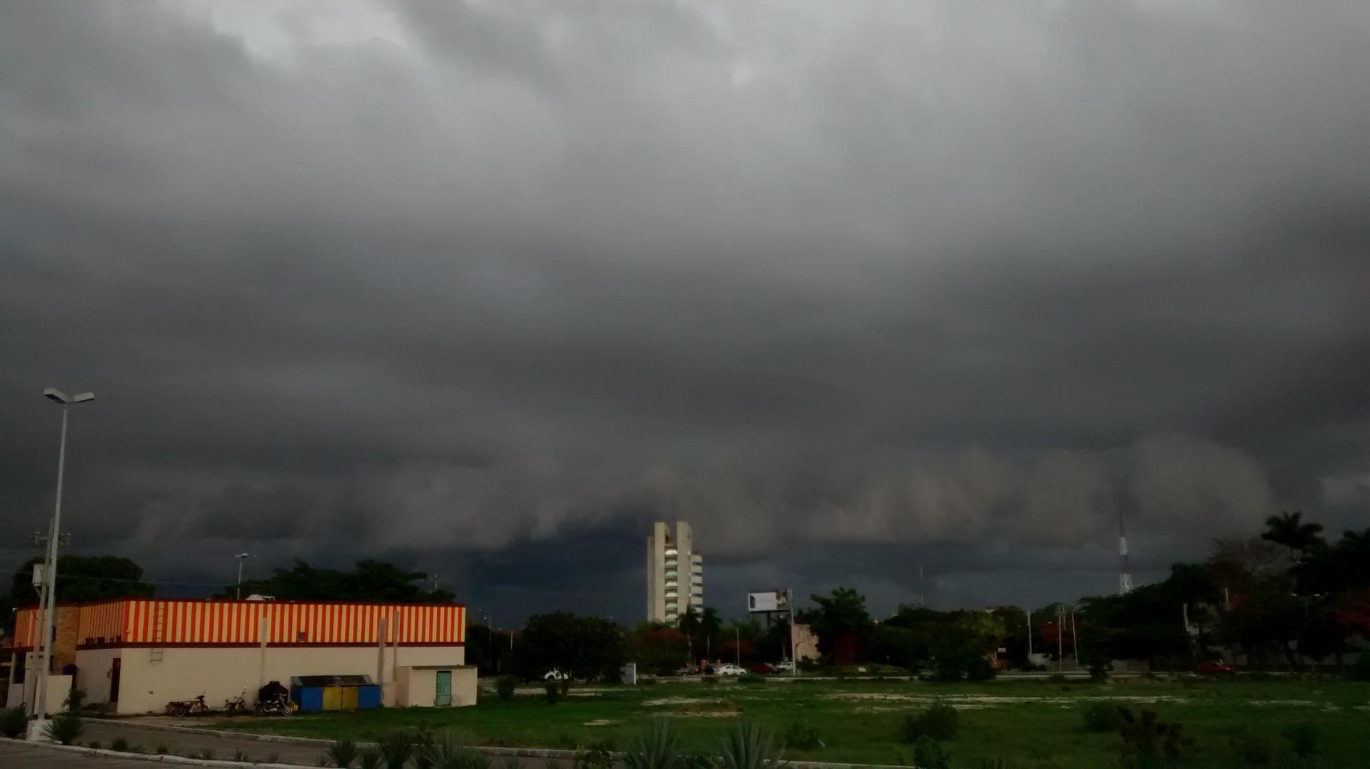 Se esperan en Yucatán tormentas fuertes para este martes