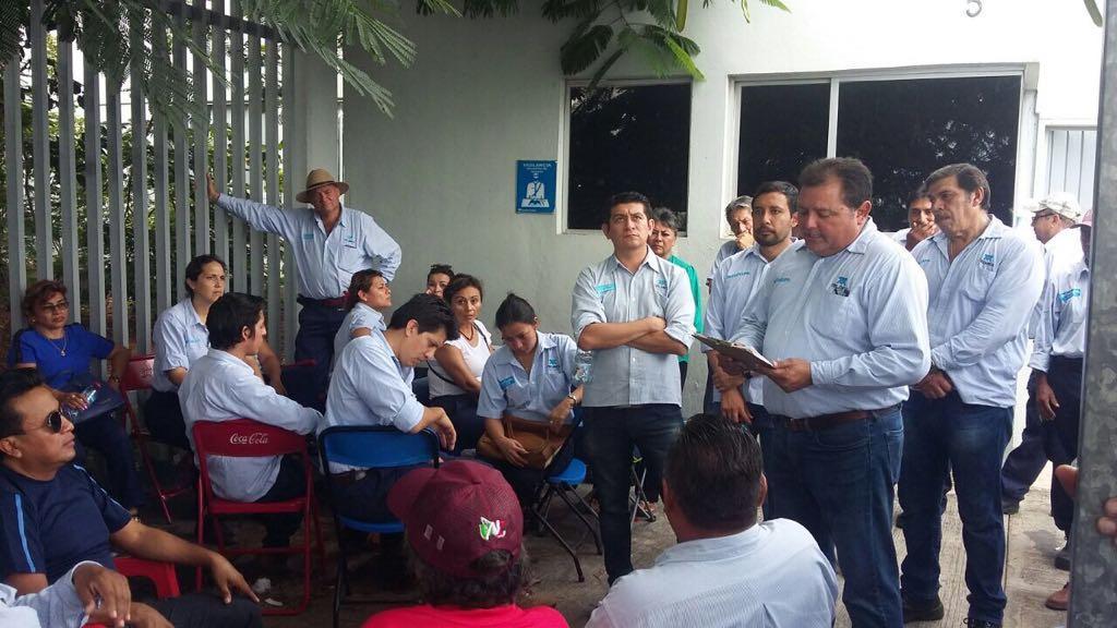 Paran labores en Yucatán más de mil empleados de Telmex