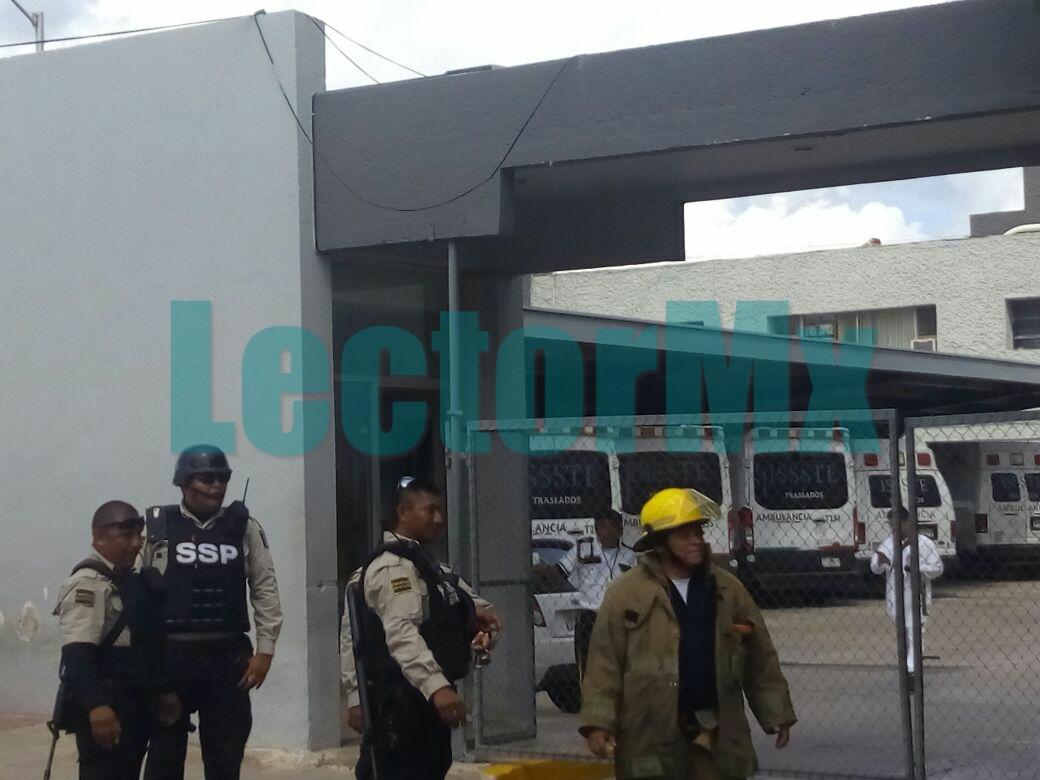 Otro conato de incendio en Hospital ISSSTE Mérida