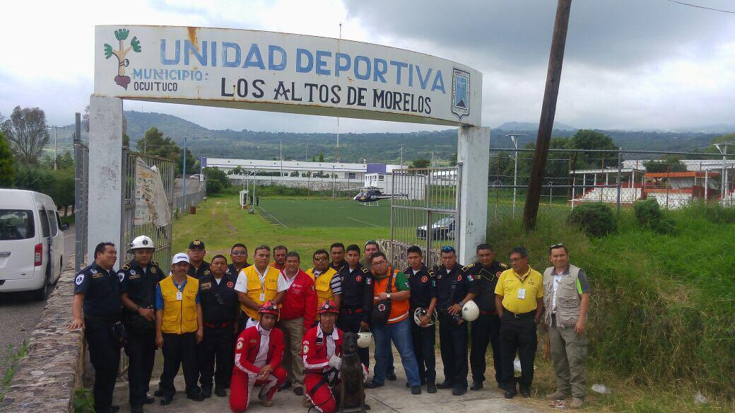 Brigada mixta de Yucatán se traslada a Morelos para brindar auxilio