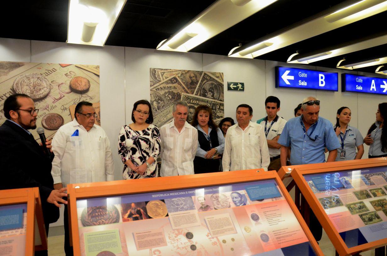 Inauguran muestra numismática del sureste: 5 siglos de historia