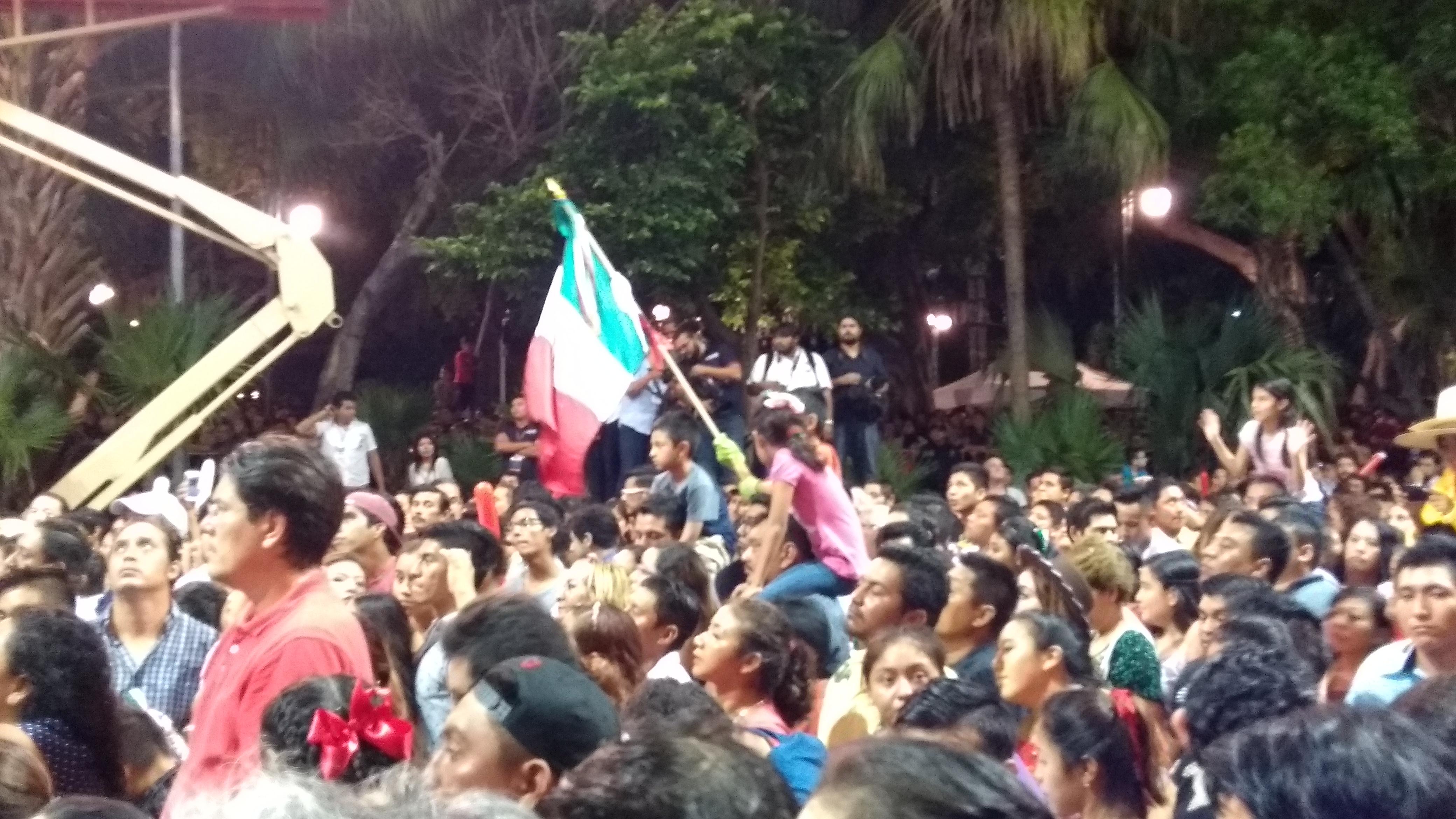 Yucatecos celebran la Independencia de México