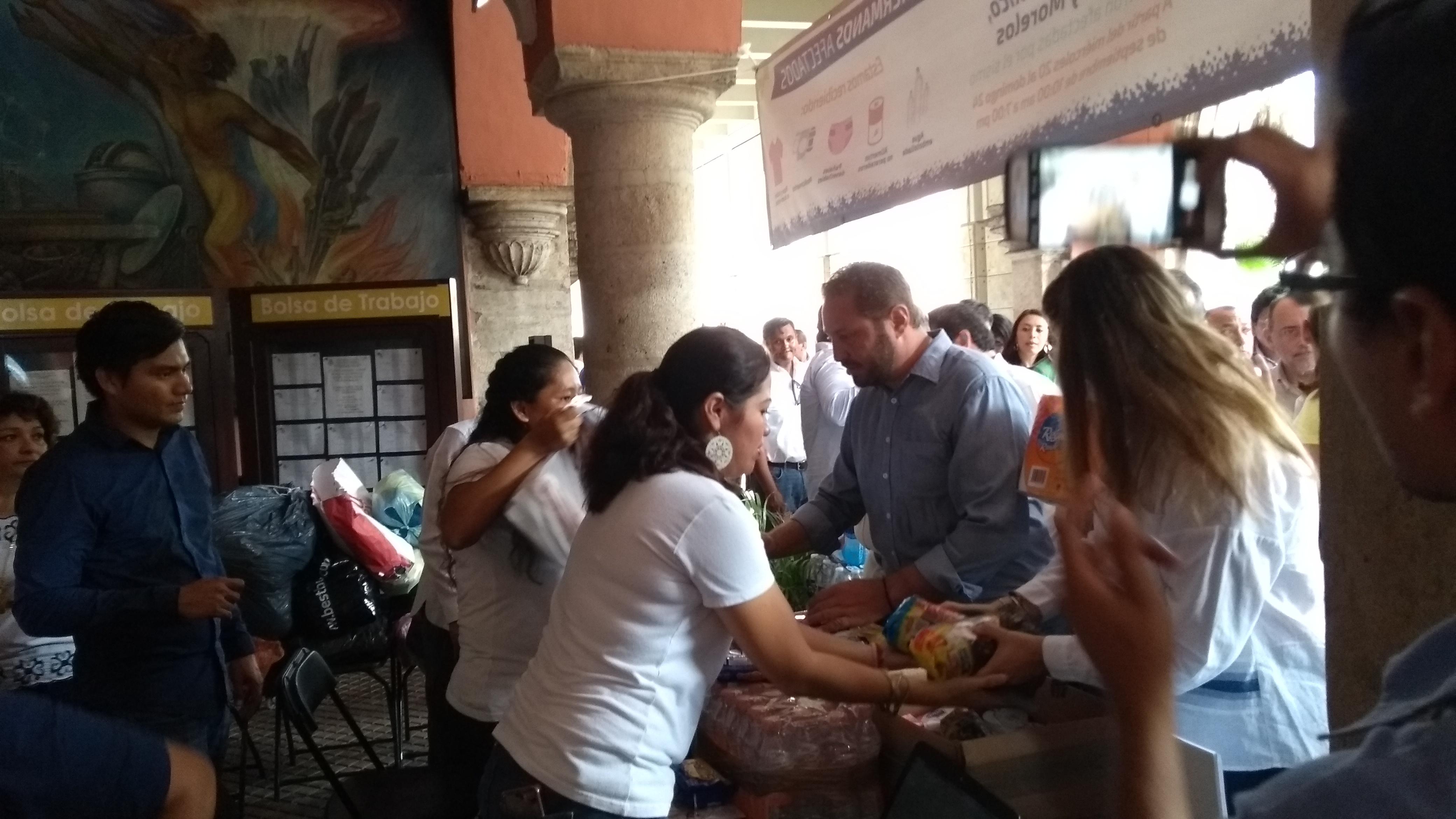 Llamado en Mérida a la solidaridad con damnificados por sismo