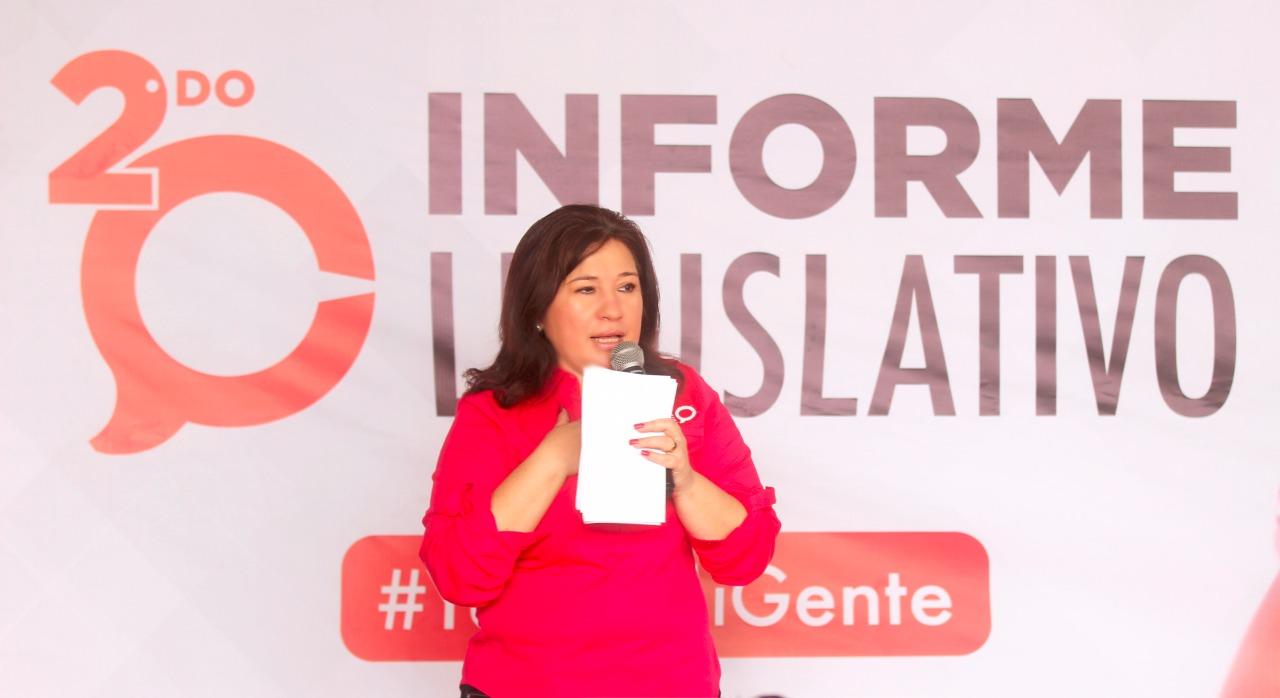 Informe legislativo de diputada Celia Rivas