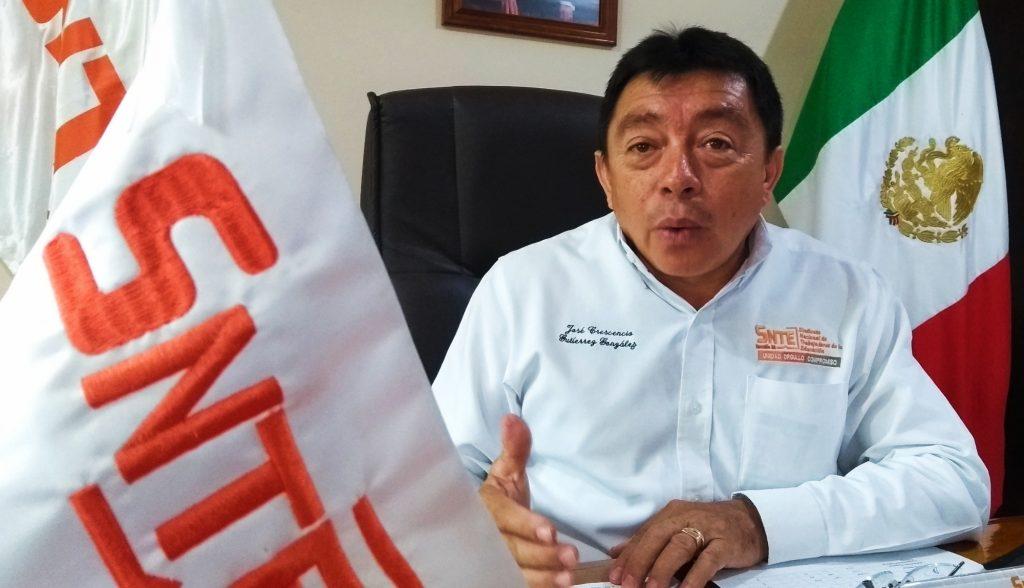 Jose Crescencio Gutiérrez González, líder sindical SNTE sección 33 Yucatán