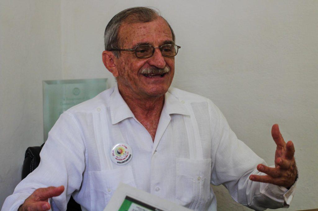 Luis Felipe Vales, director Salvemos una vida Yucatán