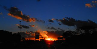 atardecer luz solar merida contexto equnioccio septiembre de 2017 (nikon)