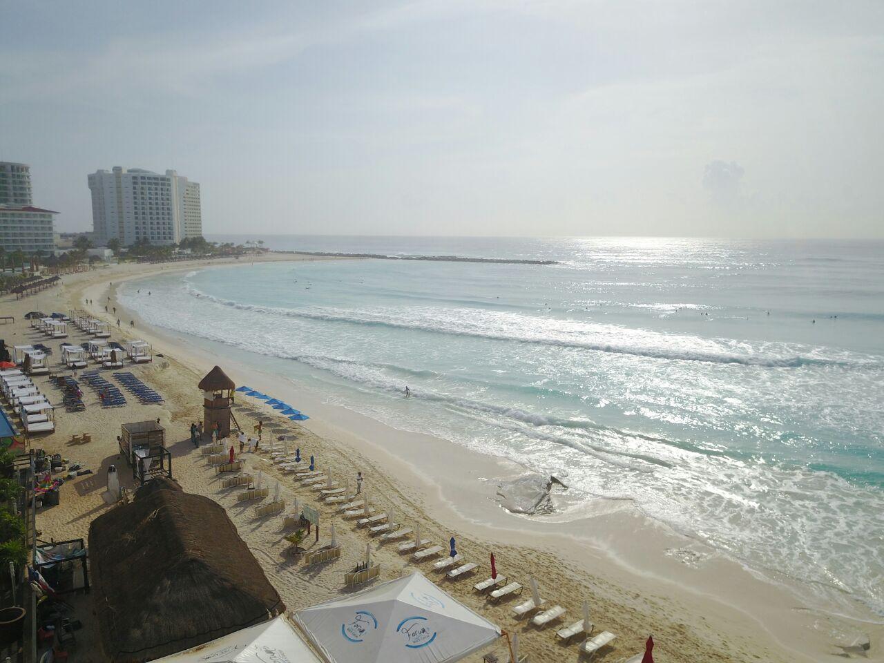 Impacta fenómeno marino playas de Caribe Mexicano