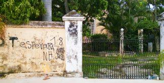 casa abandonada frente al CI mérida 2017