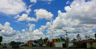 Se espera un clima caluroso en Mérida y buena parte de la Península, aunque no se descartan lluvias. (Foto: Eduardo Vargas)