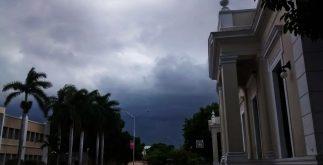Para este jueves, se esperan temperaturas altas y 80 por ciento de probabilidad de lluvias.