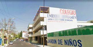 colegio enrique rebsamen google maps cdmx sismo