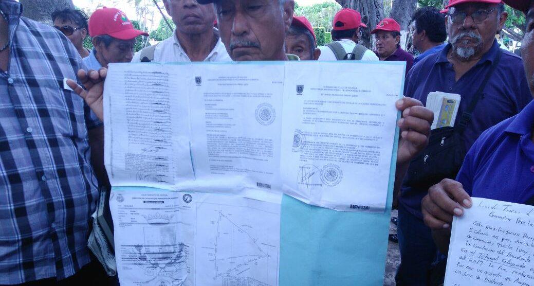 Ejidatarios de Mérida reclaman predio de fraccionamiento
