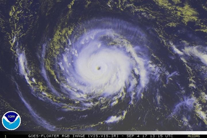 """Última hora: cazahuracanes detecta que """"Irma"""" es más fuerte"""