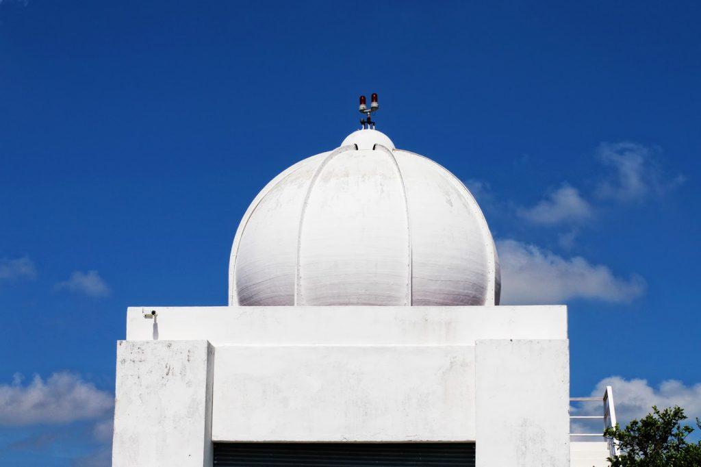 esfera antena radar meteorológico de merida