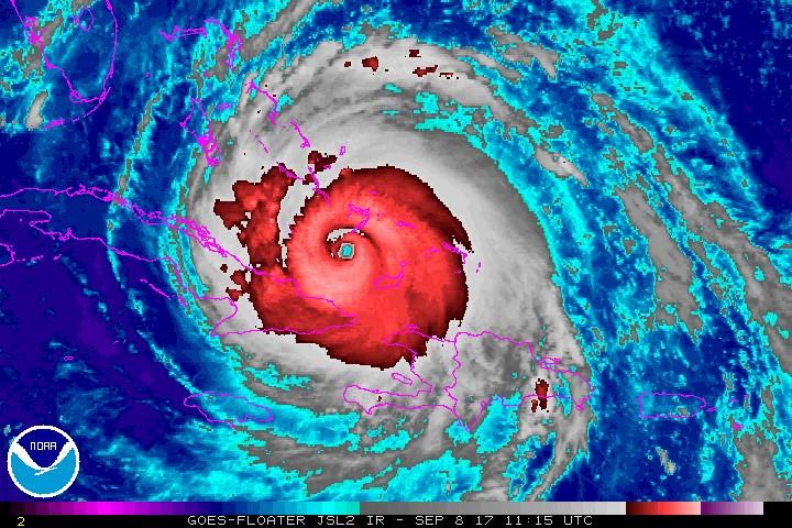 """""""Irma"""" se debilita pero ya suma 15 muertos; """"José"""" y """"Katia"""", más fuertes"""