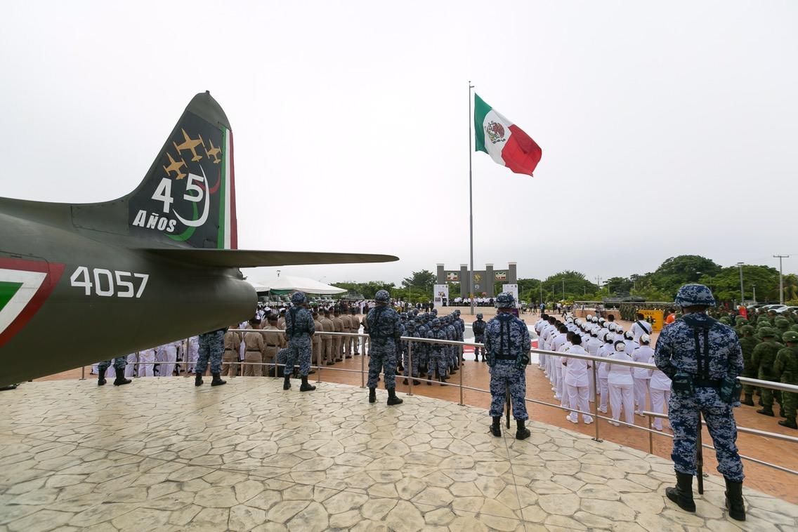 Marcan en Yucatán inicio de Fiestas Patrias