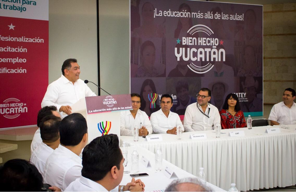 """Respaldan empresarios la iniciativa """"Bien hecho Yucatán"""""""