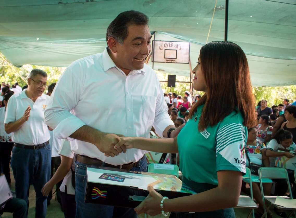 Aumenta grado de escolaridad en Yucatán