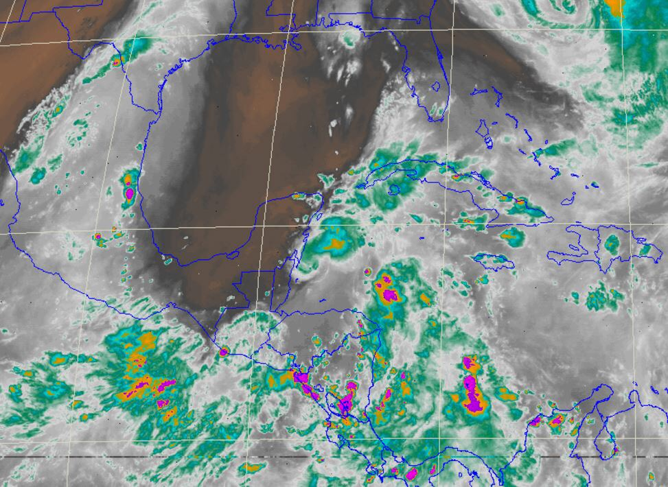 Prevén incremento en potencial de lluvias para próximos días