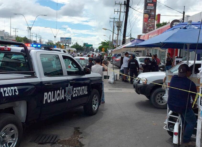 Asalto en bancos de Cancún; hay tres detenidos