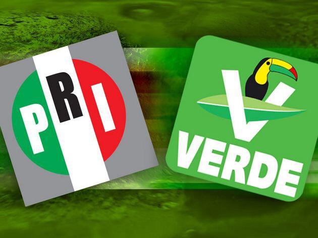 Posible coalición PRI-PVEM triunfaría en Yucatán en 2018