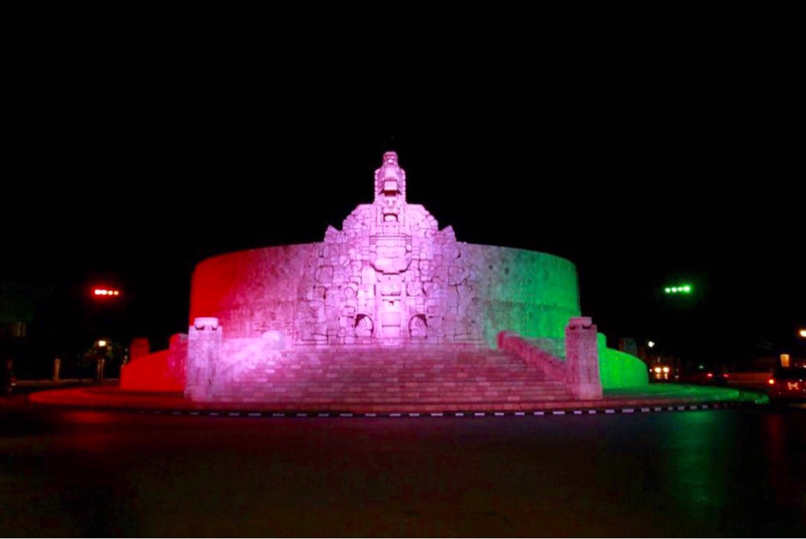 Inaugurada nueva iluminación de Monumento a la Patria