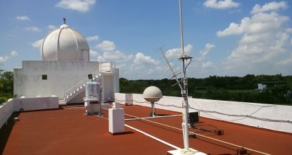 instrumentos de medición exterior techo observatorio meteorológico (1)