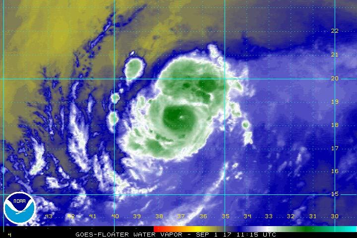 """Frena """"Irma"""" evolución; inicia mes más """"huracanado"""""""