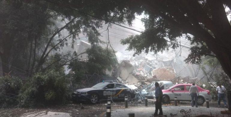 """Aspectos del sismo que """"derrumbó"""" a Ciudad de México (imágenes)"""