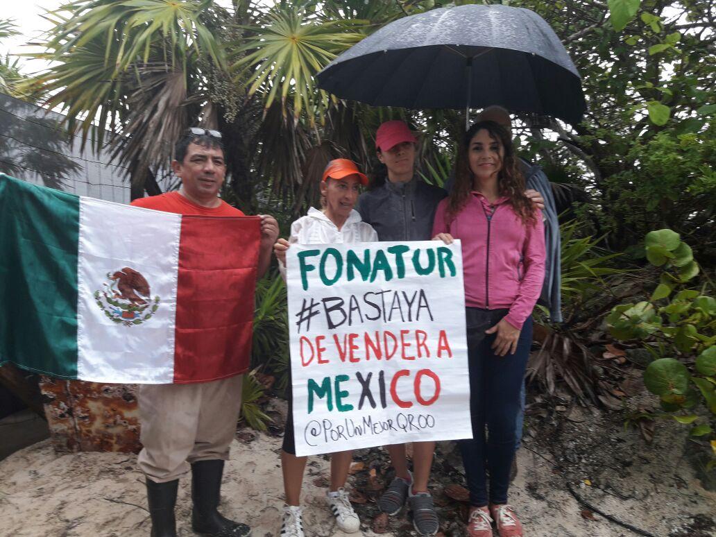 Documentan con imágenes daños en Punta Nizuc