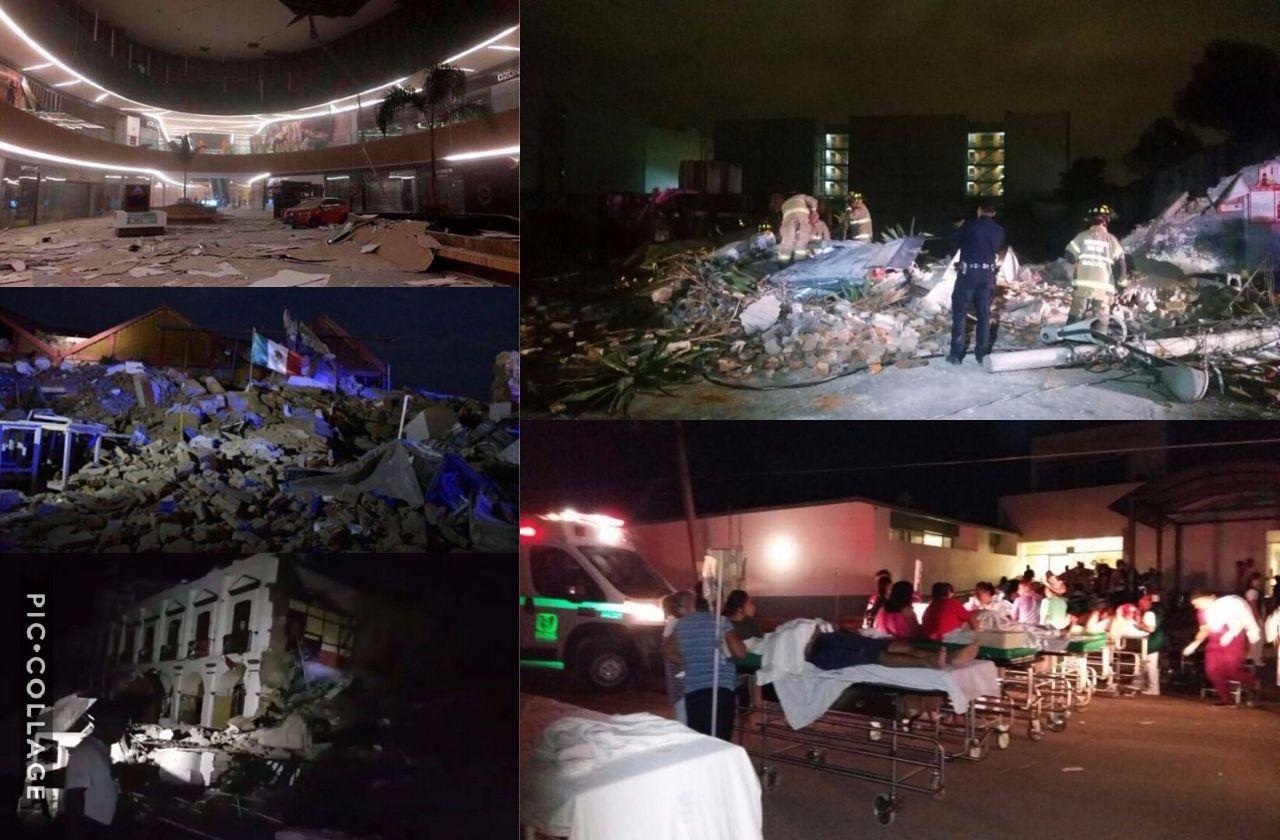 Recuento del sismo: 61 muertos y luto nacional