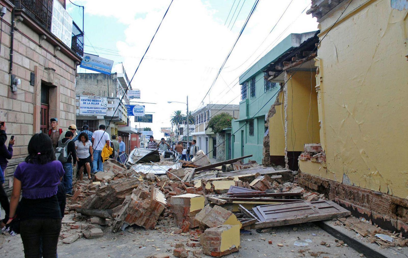 Desastre de dimensiones apocalípticas en Oaxaca y Chiapas