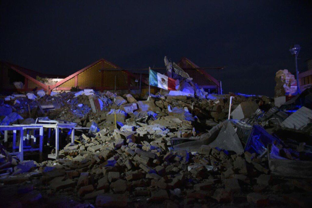 Grito de medianoche en México, de terror: 32 muertos por sismo