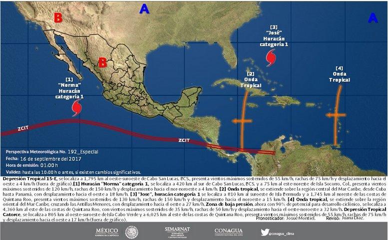 """Sábado caluroso en Yucatán; """"se acercan"""" las lluvias"""