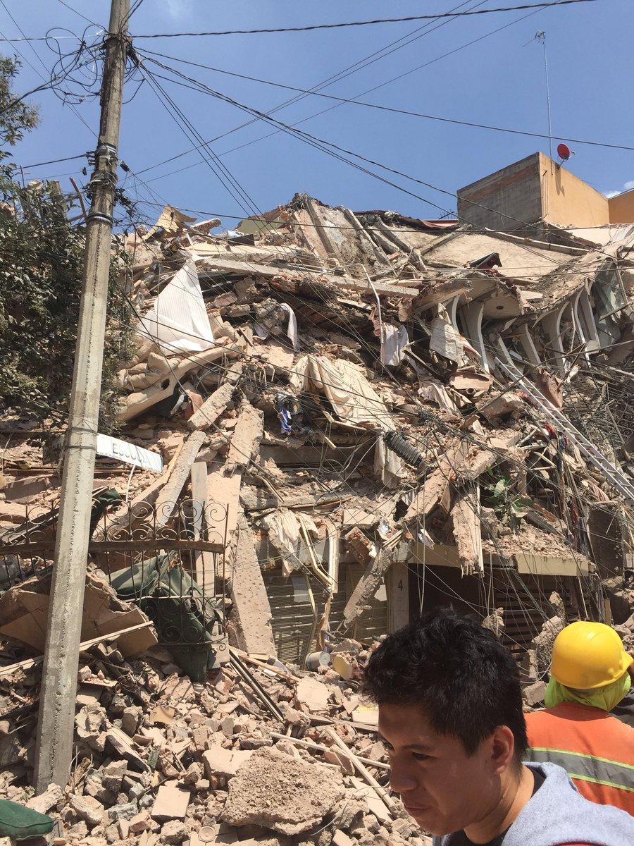 El mundo habla del desastre tras terremoto en México