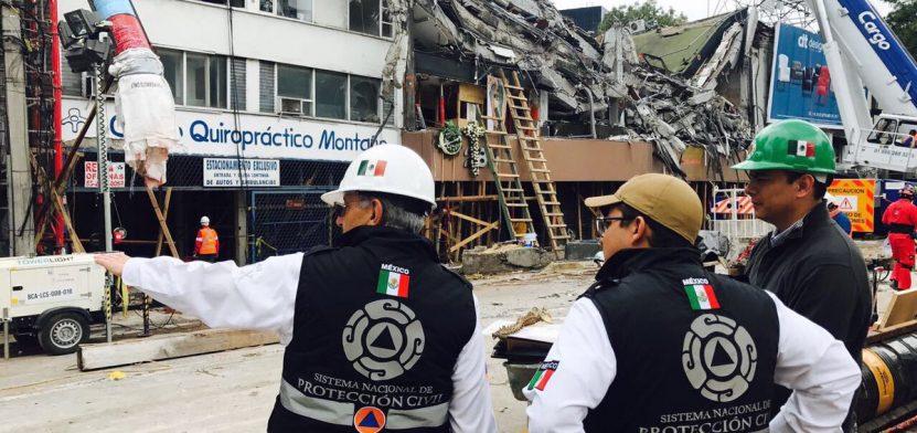Septiembre fue catastrófico para México, por los 2 terremotos que lo sacudieron. También los huracanes dejaron huella, aunque no en nuestro país. (Twitter: @PcSegob)