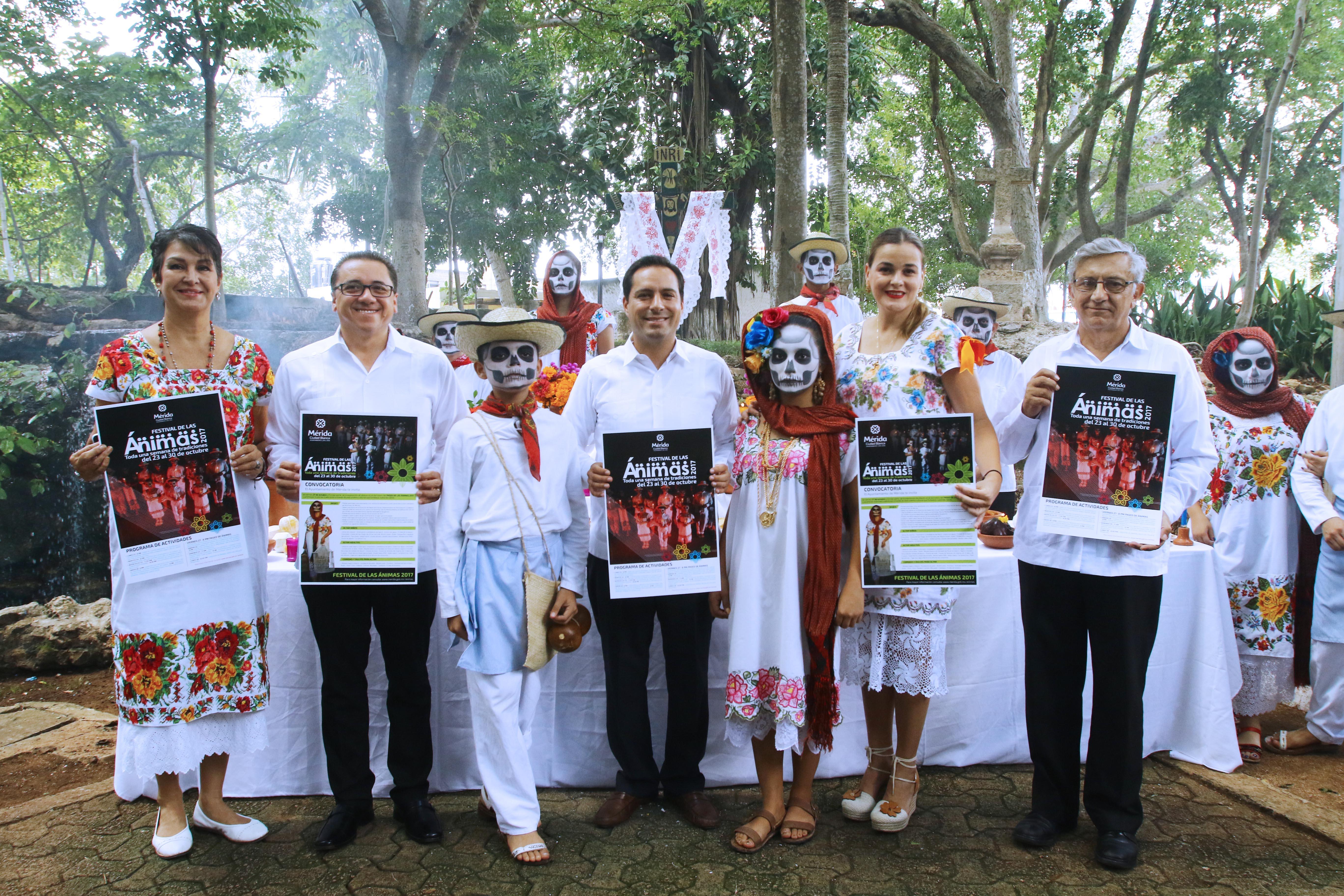 Ánimas en camino: alistan segundo festival en Mérida