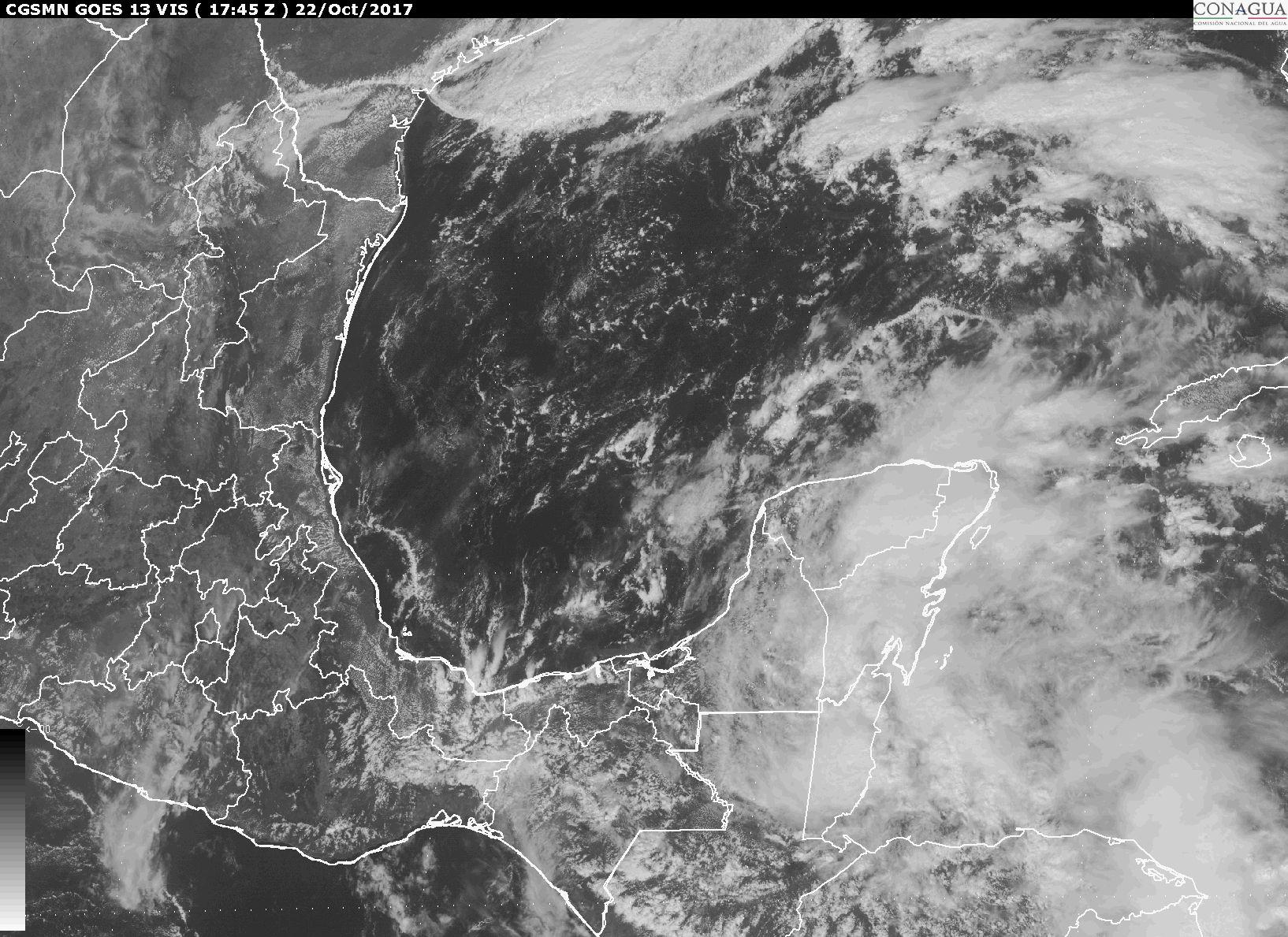 Frente Frío 6 favorecerá lluvias de diversa intensidad y evento Norte