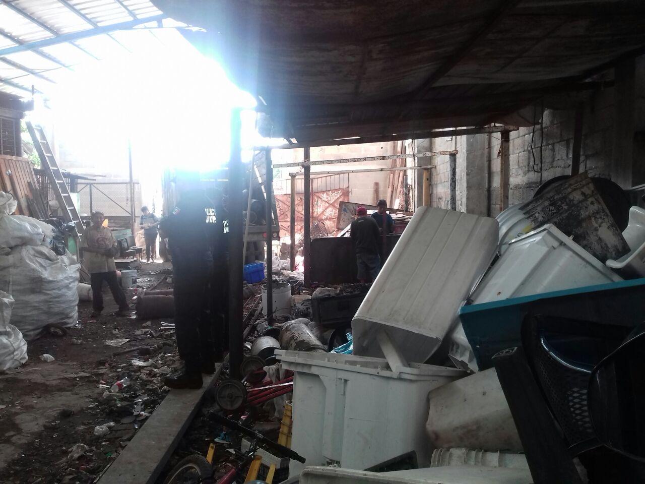 Cierran recicladora en centro de Umán