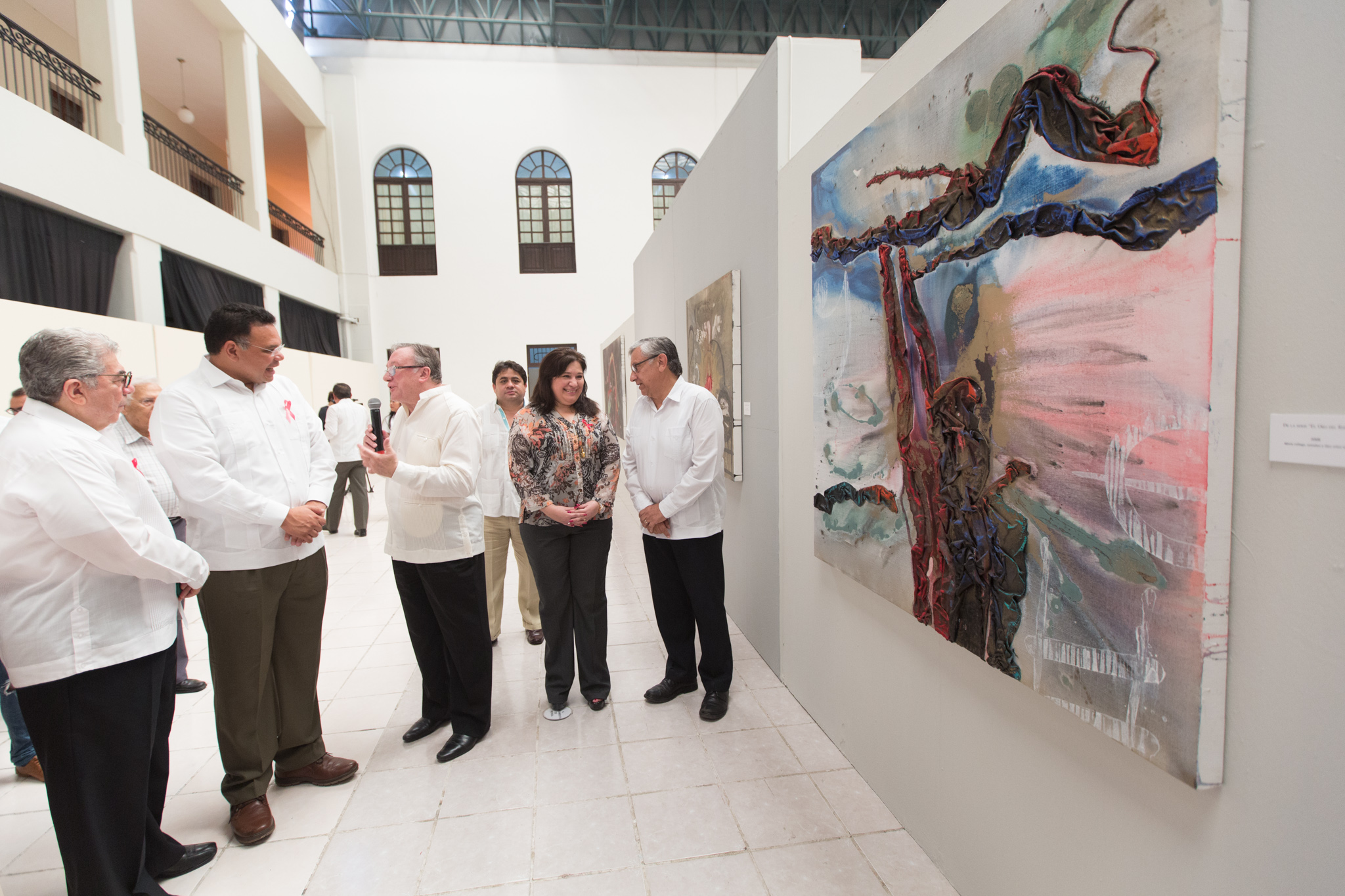 Obra de artista catalán abre exposiciones del Ficmaya 2017