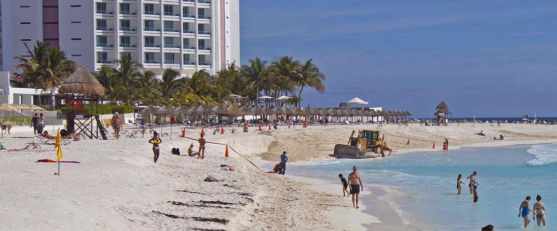 """Se preparan en Caribe Mexicano para impacto de """"Nate"""""""