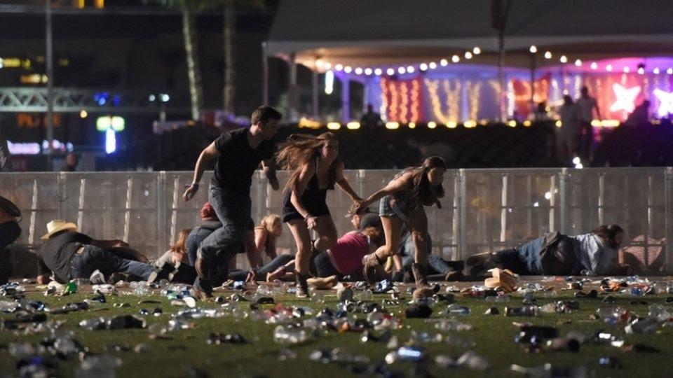 Tiroteo en Las Vegas deja al menos 50 muertos y 200 heridos