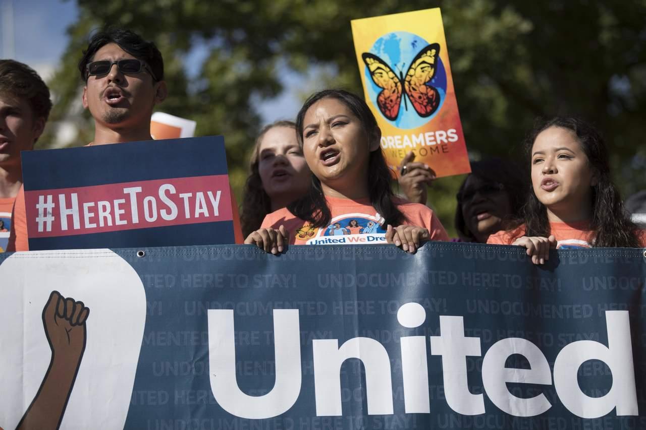 Mayoría en EU no quiere que 'dreamers' sean deportados