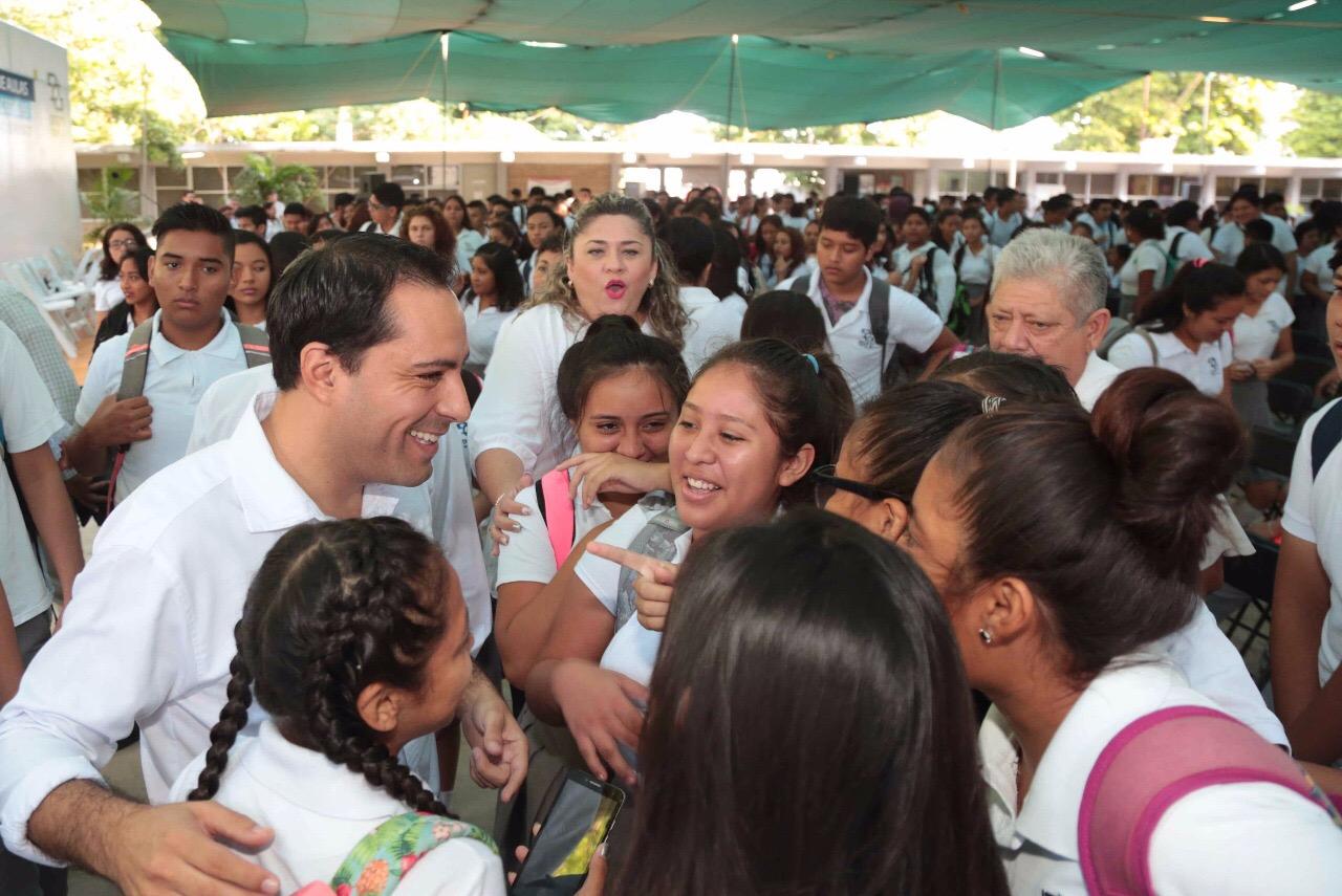 Más oportunidades de educación en el sur de Mérida