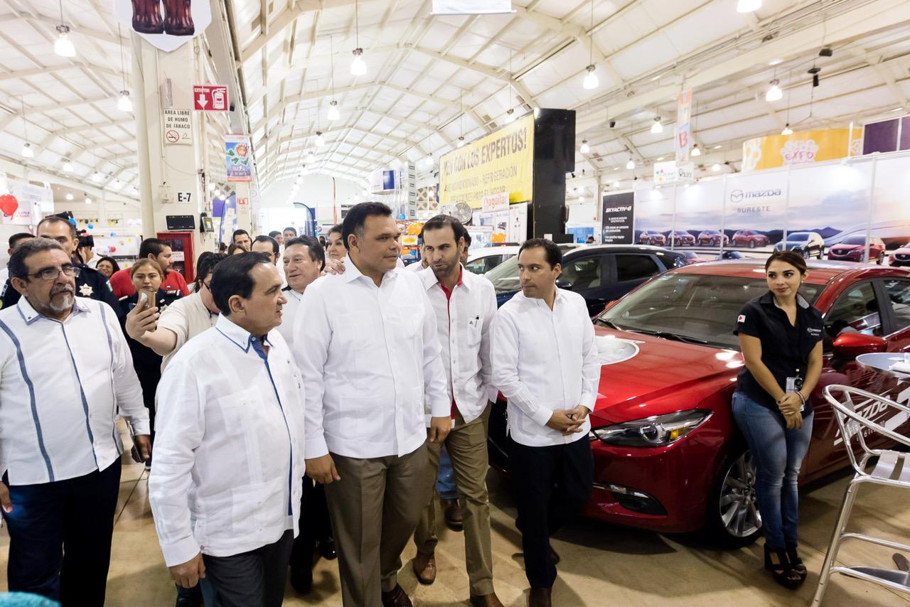 Con favorables expectativas, abre XIX Expo Feria del Comercio 2017