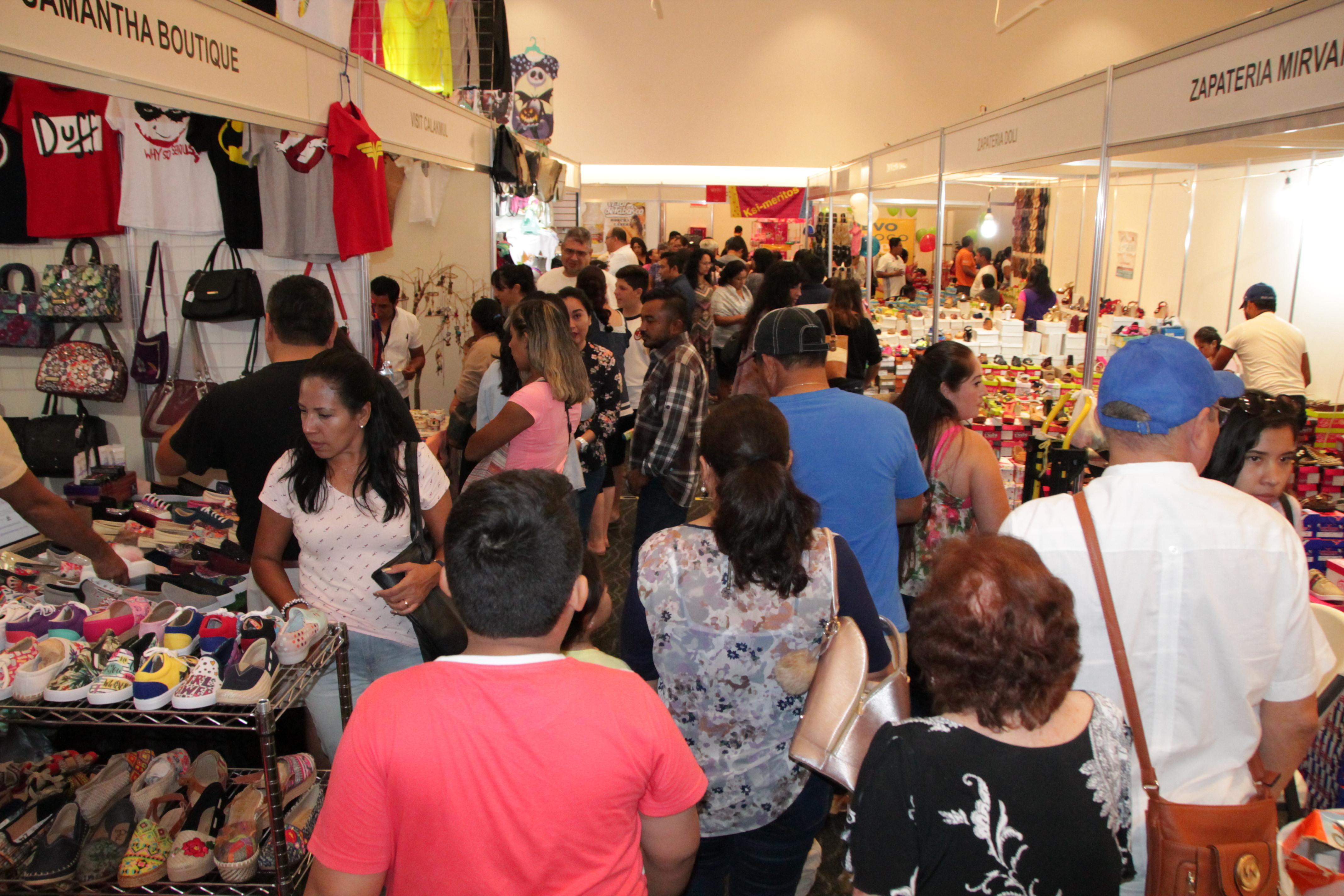Nuevas marcas encontraron en Expoferia del Comercio espacio de promoción