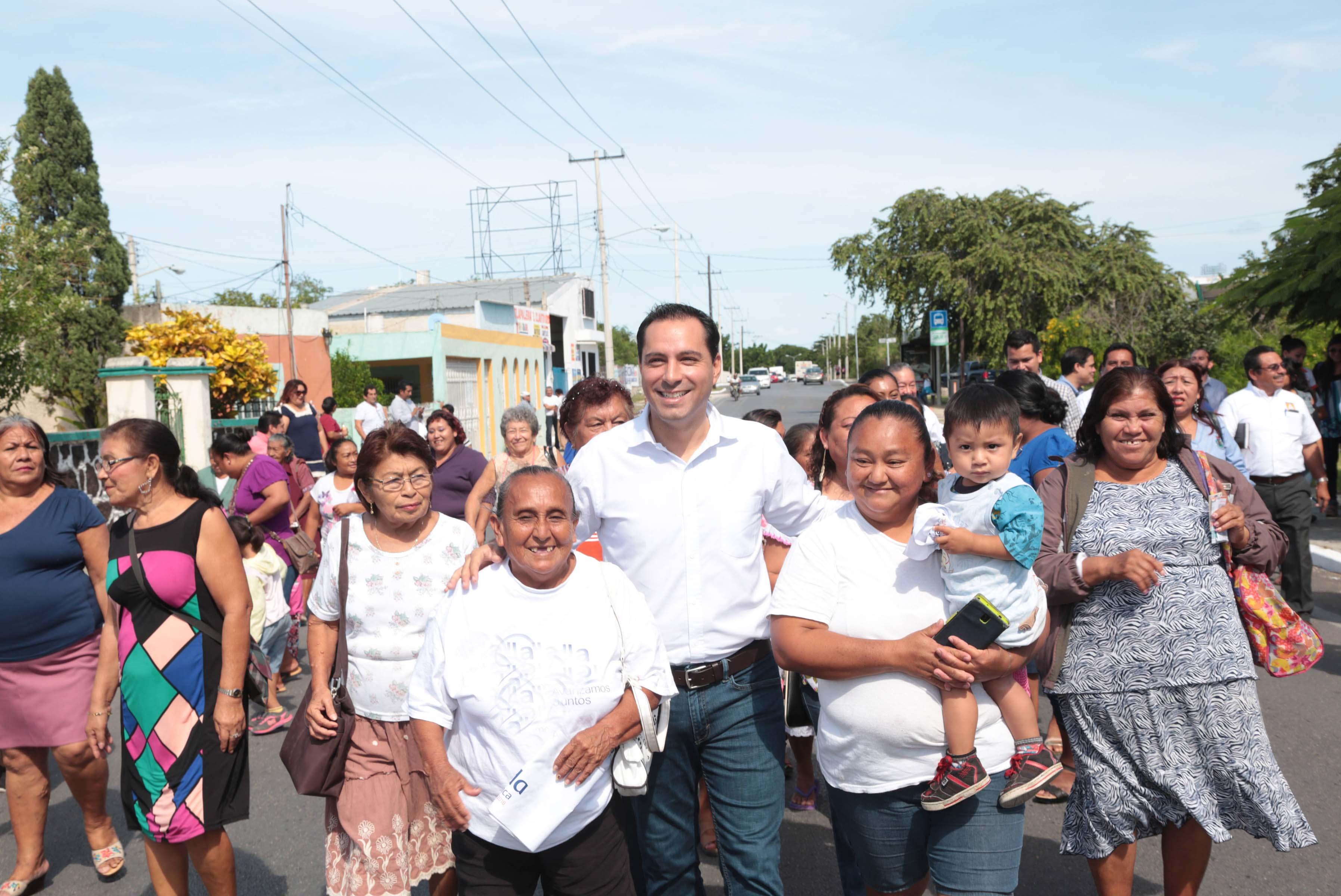 Entregan trabajos de rehabilitación en colonias María Luisa y Salvador Alvarado Sur